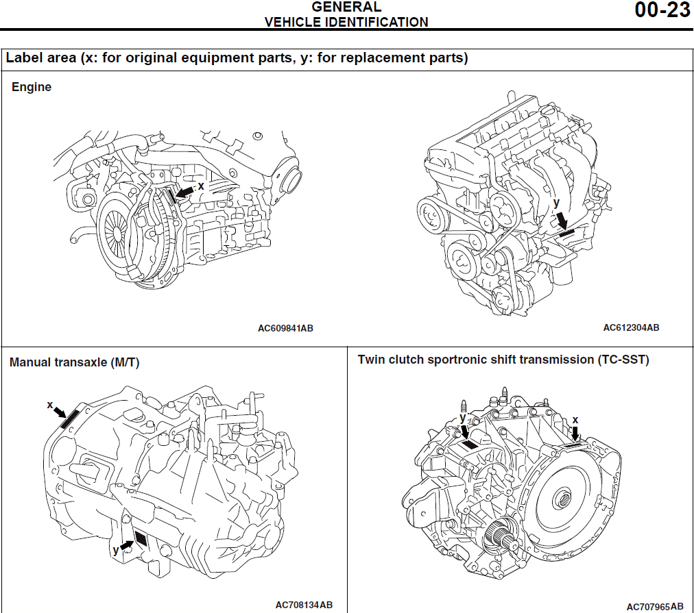 engine serial number location evolutionm mitsubishi lancer and rh evolutionm net